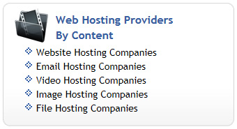 Web Hosting by Content