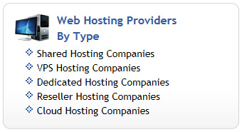 Web Hosting by Type