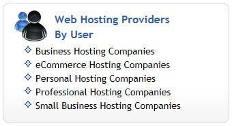 Web Hosting by User